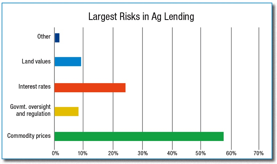 largest risks in ag lending