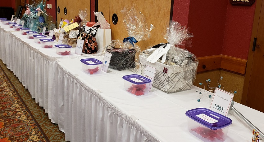 Prize baskets up for grabs