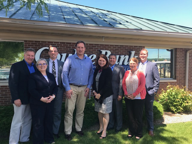 Coulee Bank staff meet with DFI.