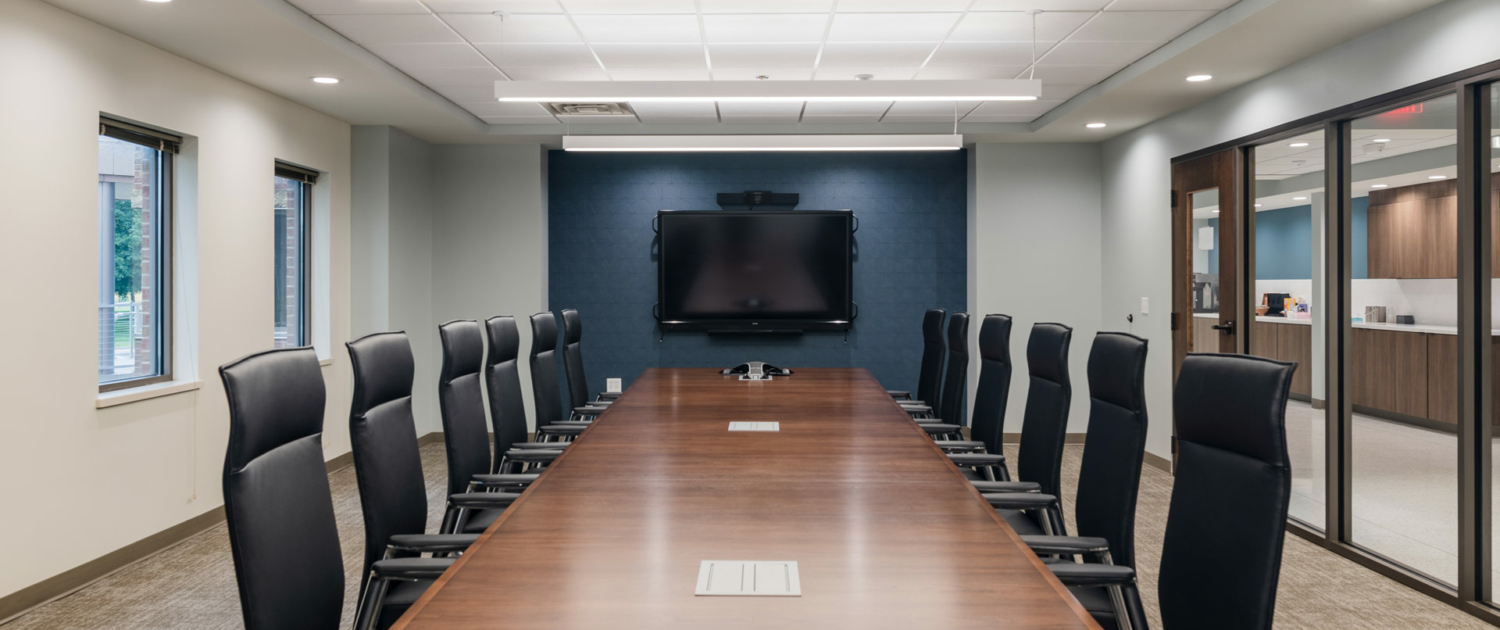 WBA Engagement Center Board Room Table and Chairs